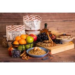 Maple Grove Oatmeal Up to 25 Year Shelf Life Emergency Food