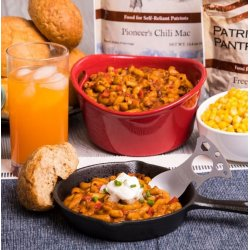 Pioneer Pantry Chili Mac Up to 25 Year Shelf Life Emergency Food