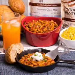 Pioneer Pantry Chili Mac Up to 25 Year Shelf Life Emergency Food