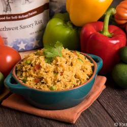 Southwest Savoury Rice Up to 25 Year Shelf Life Emergency Food