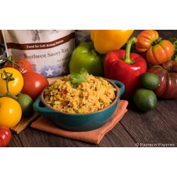 Southwest Savoury Rice Up to 25 Year Shelf Life Emergency Food