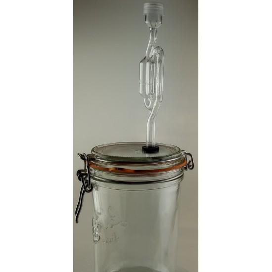 1 Litre Le Parfait TERRINE Fermenting Jar With Fermenting Lid