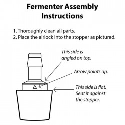 ReCap Lid with Waterless Fermenting Airlock - Jar not included