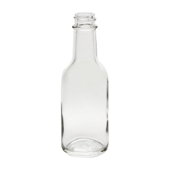 Mini 1.7oz Hot Sauce Woozy Bottle with lid (Single Jar)