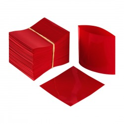 Red Shrink Wrap to Suit Woozy Hot Sauce Bottles 24mm