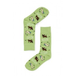 Don't Stop Retrievin' Punny Socks Men's Shoe Size 7 - 12
