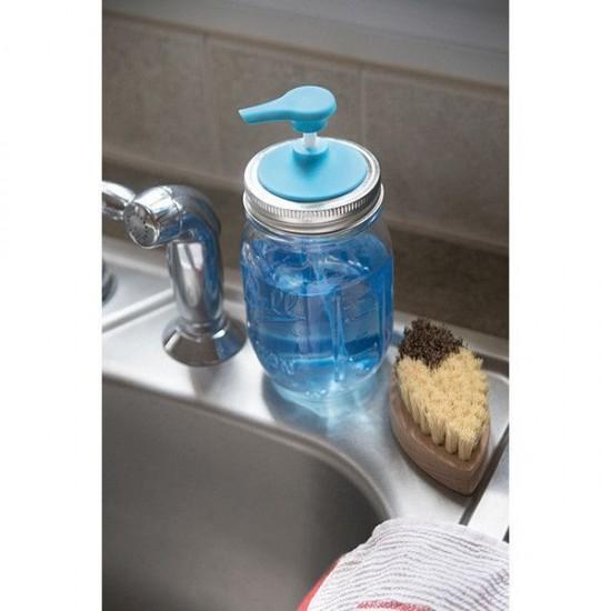 Soap Lid Attachment Suits Regular Mouth Mason Jar