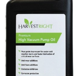 Harvest Right Pump Oil 1 Quart PREORDER ONLY