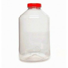 FerMonster 6 Gallon 23 Quart PET Carboy Fermenter with rubber bung and airlock