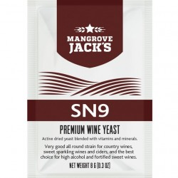 Wine Yeast SN9 High Alcohol Fortified Wine, Country, Sweet Sparkling Cider