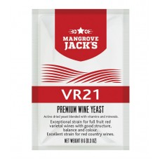 Wine Yeast  VR21 Full Fruit Varietal and Country Red