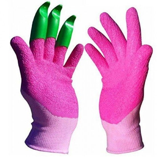 Honey Badger Digging Gloves Latex Female Pink 7 / 18cm