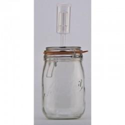 1 Litre Le Parfait Fido Fermenting Jar With Fermenting Lid