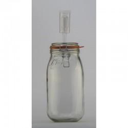 2 litre Le Parfait Fido Fermenting Jar With Fermenting Lid