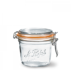 200ml Le Parfait TERRINE jar with seal Le Parfait France