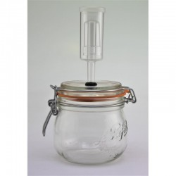 500ml Le Parfait Fermenting Jar With Fermenting Lid BPA Free