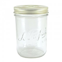6 x 1000ml Super Wide Mouth Le Parfait Familia Wiss Preserving Jars