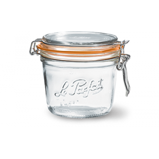 6 x 350ml Le Parfait TERRINE jar with seal