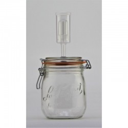 750ml Le Parfait Fido Fermenting Jar With Fermenting Lid