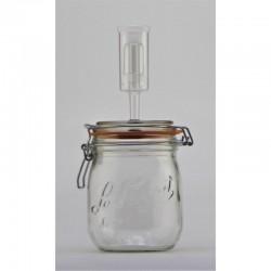 750ml Le Parfait Fido Fermenting Jar With Fermenting Lid
