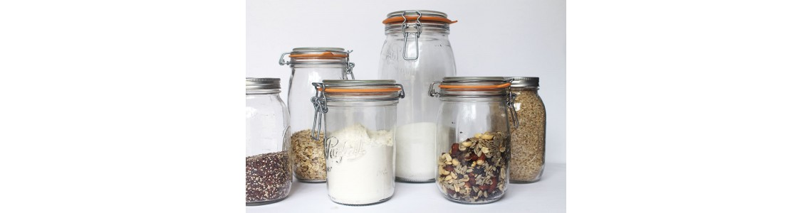 Le Parfait Swing Top Jars