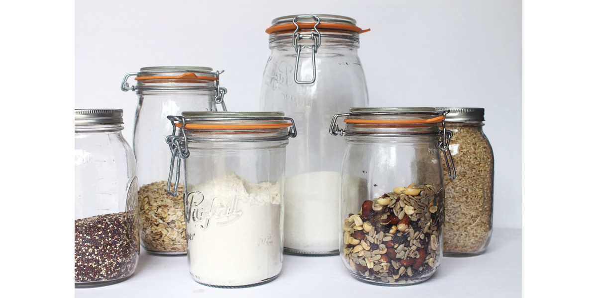 Le Pafait Jars and Bottles