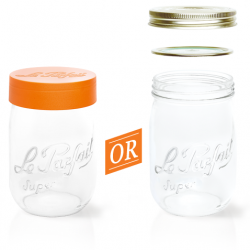 2000ml Le Parfait Storage Jar with Screwtop Lid