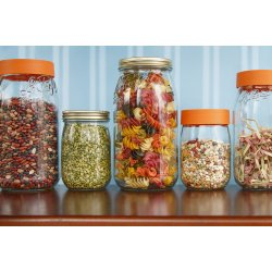 1000ml Le Parfait Storage Jar with Screwtop Lid