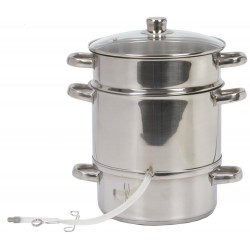 Le Parfait Steam Juicer Stainless Steel