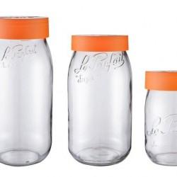 3000ml Le Parfait Storage Jar with Screwtop Lid