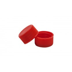 24mm Matt Plastic Lid with Liner