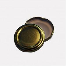 70mm TWIST TOP sauce bottle lids GOLD