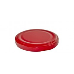 53mm TWIST TOP lid Red