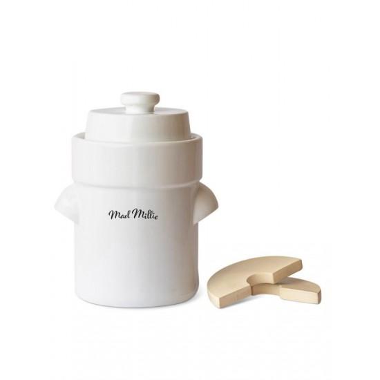 Ceramic Fermenting Crock up to 3 litre capacity