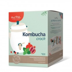 Kombucha Crock Ceramic with Stainless Steel Tap