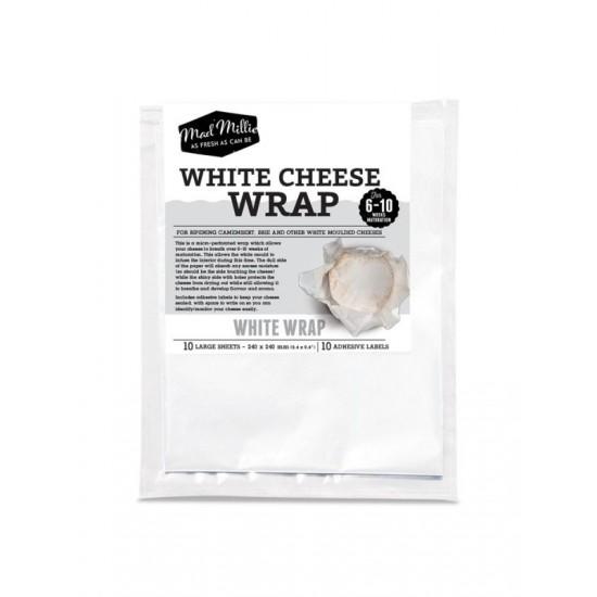 10 x Cheese White Wrap 240x240