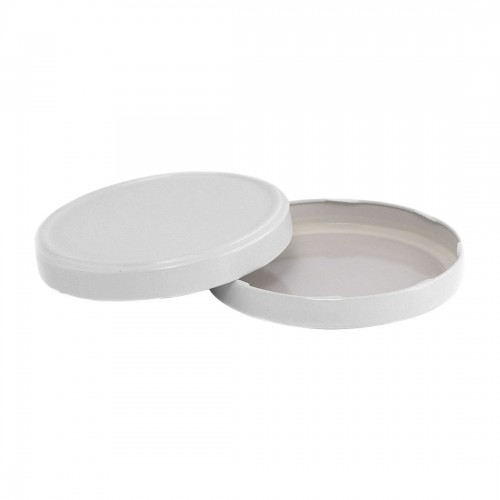 110mm TWIST TOP CT Tin Lid with Food Safe Lining One Piece