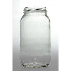 12 x 750ml General Purpose Preserving Jars - Lids not included