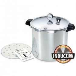 Presto 21 Litre Pressure Canner WITH Stainless Steel Base and New Regulator IN STOCK IN AUSTRALIA