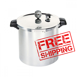 Presto 21 Litre Pressure Canner WITH Stainless Steel Base and New Regulator!