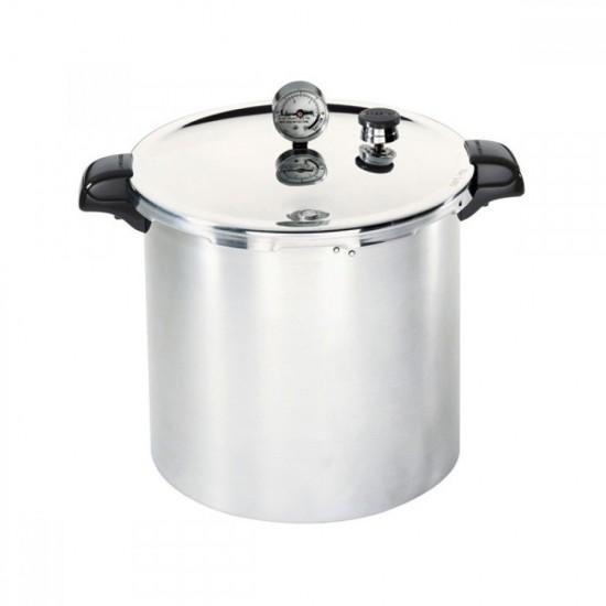 Presto 23qt 21 litre Ball Mason Weck Pressure Canner / Cooker with Green Quarts