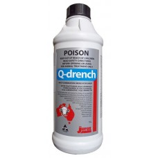 1 Litre bottle Jurox Q-Drench all round drench for sheep and goats