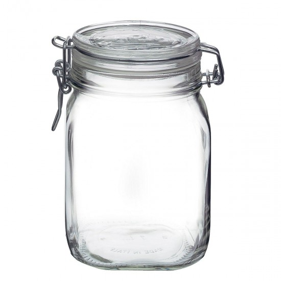 1 litre Bormioli Rocco Fido Swing Top Preserving  Jar