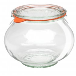1 x 1 litre Deco Jar Complete - 748 Weck