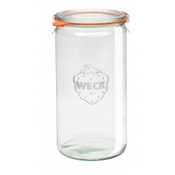 1 x 1.5 Litre Cylinder Jar  - 974 Weck