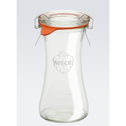 1 x 100ml Cafe Deli Coffee Cappuccino, Latte Cup Jar  - 757 Weck