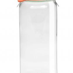 1 x 1 litre Cylinder Jar Complete - 908 Weck