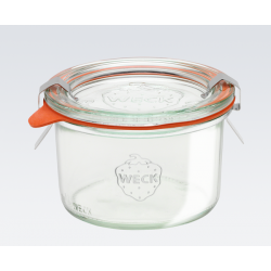 1 x 200ml Tapered Jar Complete - 751 Weck