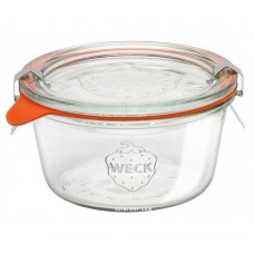 1 x 290ml Tapered Preserving Jar (Short) Complete - 740 Weck