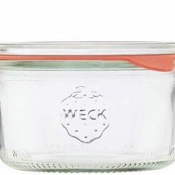 1 x 300ml Tapered Jar Complete - 750 Weck